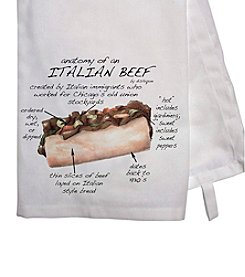 Dishique Italian Beef Dish Towel