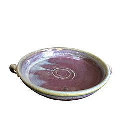 Clay Path Studio Brie Bakers Purple Dish