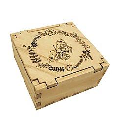 eco Urban Timber Butterfly Keepsake Box