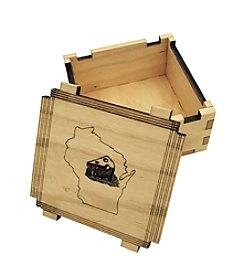 eco Urban Timber Wisconsin Cheese Keepsake Box