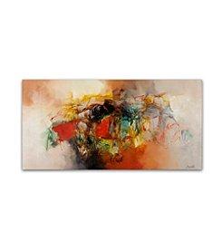 Trademark Global Fine Art Zavaleta 'Abstract VI' Canvas Art