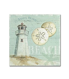 Trademark Global Fine Art Lisa Audit 'Beach House I' Canvas Art