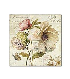 Trademark Global Fine Art Lisa Audit 'Marche de Fleurs II' Canvas Art