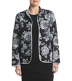 Alfred Dunner® Petites' Floral Quilted Jacket