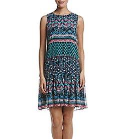 Taylor Dresses Ruffle Bottom Shift Dress