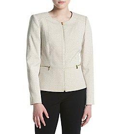 Calvin Klein Petites' Zip Front Jacket