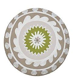 Jill Rosenwald Arrows  Round Decorative Pillow