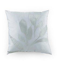 Kathy Davis Reflection Silver Leaf Decorative Pillow