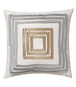 Nostalgia Home SBrownton Stripe Square Decorative Pillow