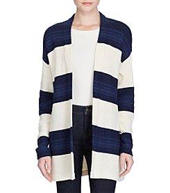 Lauren Ralph Lauren® Striped Open-Front Cardigan