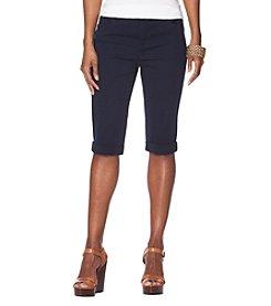 Chaps® Stretch Cotton 5-Pocket Shorts