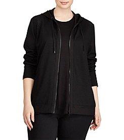 Lauren Ralph Lauren® Plus Size Ponte Hoodie