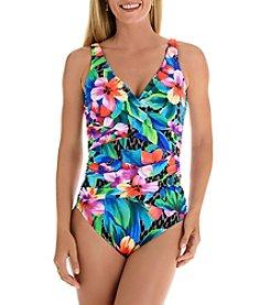 Trimshaper® Wildflower One Piece Swimsuit