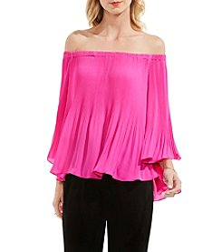 Vince Camuto® Pleated Off-Shoulder Blouse
