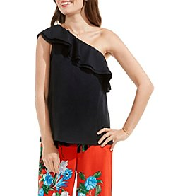 Vince Camuto® One-Shoulder Ruffled Blouse