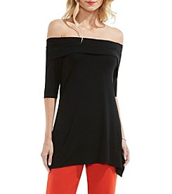 Vince Camuto® Off-Shoulder Sharkbite Top