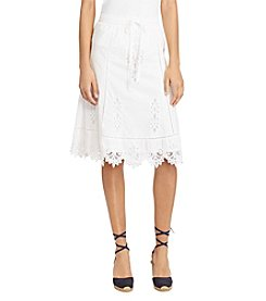 Lauren Ralph Lauren® Full Lace Skirt