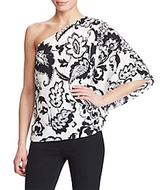 Lauren Ralph Lauren® Paisley One-Shoulder Top