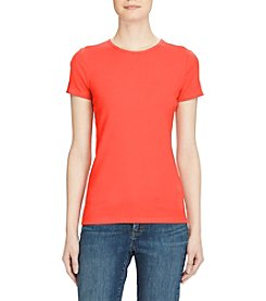 Lauren Ralph Lauren® Stretch Cotton Knit Tee