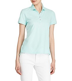 Lauren Ralph Lauren® Stretch Pique Polo Shirt