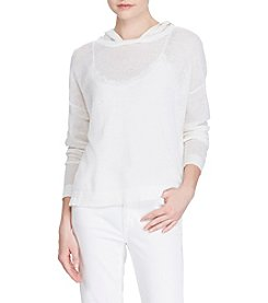 Lauren Ralph Lauren® Linen-Cotton Hoodie