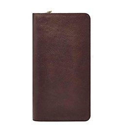 Fossil® Men's Multi-Zip Passport Case