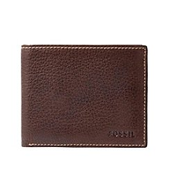 Fossil® Men's Lincoln Leather Flip ID Wallet