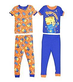 Komar Kids Boys' 2T-4T 4-Piece Daniel The Tiger Pajama Set