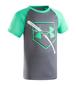 Under Armour® Boys' 2T-4T Short Sleeve Breaking Bat Raglan Shirt