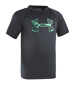 Under Armour® Boys' 2T-4T Short Sleeve Anatomic Big Logo Tee