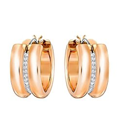 Swarovski® Crystal Hoop Earrings