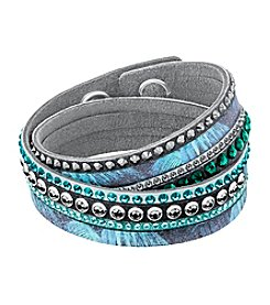 Swarovski® Crystal Palm Tree Print Bracelet