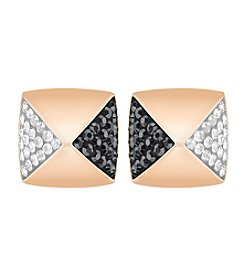 Swarovski® Studded Pierced Earrings