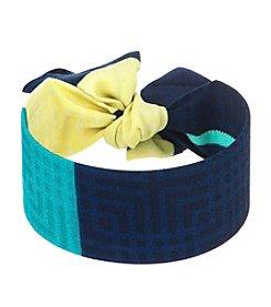 Laundry® Fabric Tie Cuff Bracelet