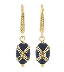 Laundry® Enamel Bead Drop Earrings
