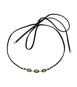 Laundry® Enamel Bead Adjustable Choker Necklace