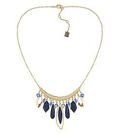 Laundry® Multi Stone Bib Necklace