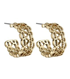 The Sak® Pierced Band Hoop Earrings
