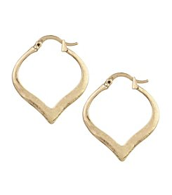 The Sak® Tapered Hoop Earrings