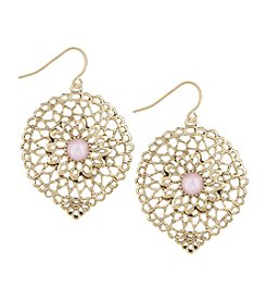 The Sak® Openwork Large Drop Earrings