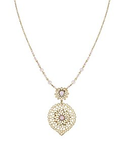 The Sak® Lace Stone Pendant Necklace
