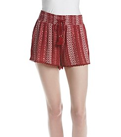 Hippie Laundry Printed Soft Shorts