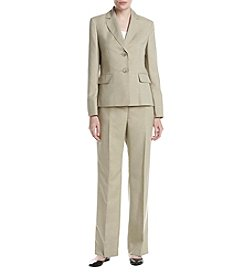 LeSuit® Melange Two-Button Pantsuit