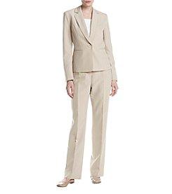 LeSuit® Pinstriped Pantsuit
