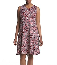 Studio Works® Plus Size V-Neck Dress