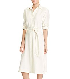 Lauren Ralph Lauren® Fit And Flare Shirtdress