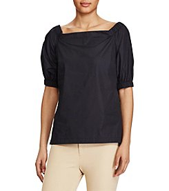 Lauren Ralph Lauren® Cotton Off The Shoulder Top