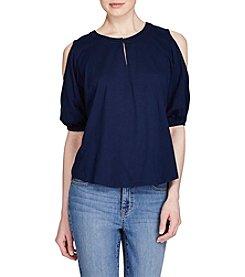 Lauren Ralph Lauren® Cutout Jersey Top