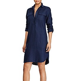 Lauren Ralph Lauren® Linen Shirtdress