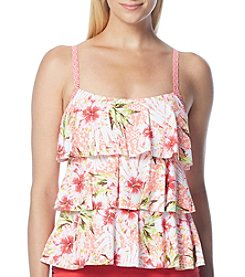 Beach House® Ruffle Tankini Top